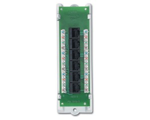 Leviton 47605-C5B Leviton Category 5e Voice and Data Module - Patch Panel